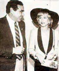 Аронау с Лилиан, на которой он женился вторым браком