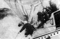 Аврал на борту «Фазисы»: поломка гика в очередном брочинге