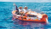 """Австралийская лодка """"Freedom"""" — 2-е место на финише"""