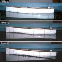 Буксировочные испытания модели корпуса