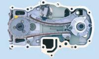 Цепной привод газораспределения моторов