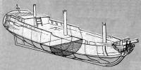 Чертеж корабля