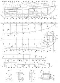 Чертежи корпуса лодки «Бриз-46Р» (Часть 2)