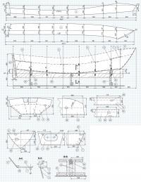 Чертежи лодки «Бриз-42» (продолжение)