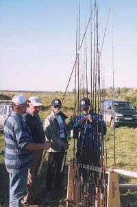 """Демонстрация рыболовного снаряжения """"Daiwa"""""""