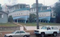 Дома в виде кораблей