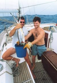 Довольные лица рыбаков