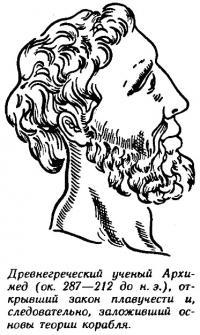 Древнегреческий ученый Архимед