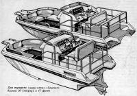 Два варианта «мини-яхты» «Генезис»