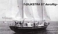 Двухмачтовая яхта «DIJKSTRA 57 AeroRig»