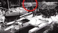 Единственное фото, на котором видно яхту «Удача-2»