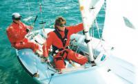 Экипаж яхты класса 470