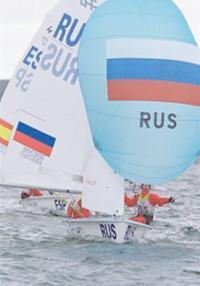 Экипаж Дмитрия Березкина и Михаила Крутикова