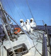 Экипаж на яхте «Вирма»