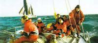 Экипаж яхты «Мир»