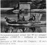 Экспериментальный легкий аппарат-амфибия «ЛАВП-Э»