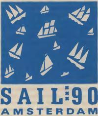 Эмблема «Сейл-90 Амстердам»
