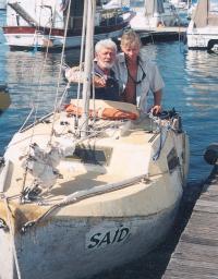 Евгений Гвоздев и Виктор Языков на борту