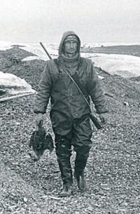Евгений Смургис возвращается с охоты