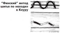 """""""Финский"""" метод шитья по находке в Кеуру"""