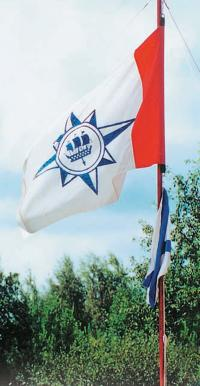 Флаг яхт-клуба «Балтиец»