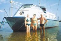 Фото катера «Рассвет»