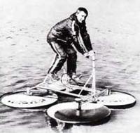Фото вертоплава на воде