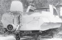 Фото водометного двигателя на транце