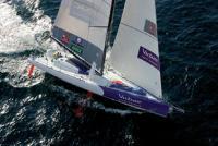 Фото яхты Virbac с высоты