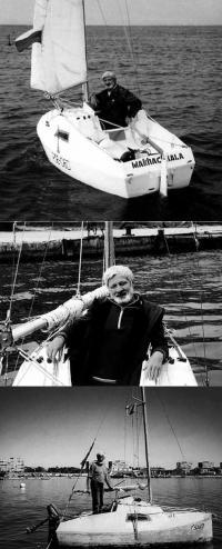Фотографии Евгения Гвоздева на своей яхте