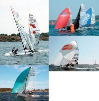 Фотографии яхт класса 49er на чемпионате