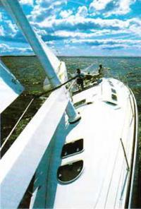 Фотография сделанная с яхты