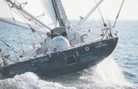 Французская яхта