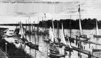 Гавань Санкт-Петербургского речного яхт-клуба в 1889 г.
