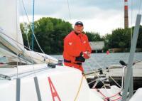 Георгий Шайдуко на яхте