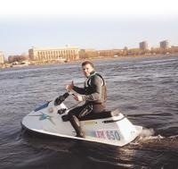 Гидроцикл ВМ-650 на воде