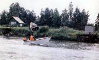 Глиссирование лодки «Аргон-360»