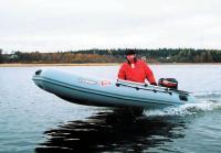 Глиссирование лодки Лидер 330