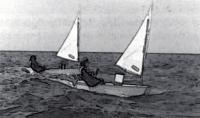 Глиссирование на подветренном склоне волны