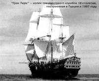 """""""Гран Тюрк"""" — копия трехмачтового корабля 18 столетия"""