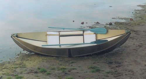 Гребная охотничья складная лодка