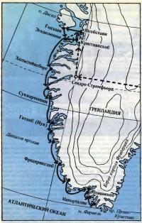 Гренландия — самый большой остров в мире