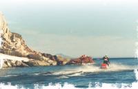 Грозная семейка моржей на самом мысу острова Ратманова