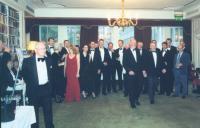 Группа океанских гребцов на юбилейном собрании ООГ 16 мая 2003 г.