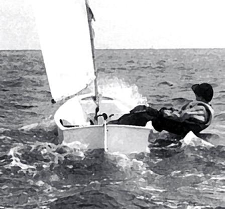 Ходите свободно и быстро с ноком гика снаружи лодки