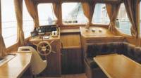 Капитанская каюта и пульт управления