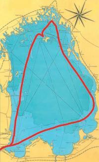Карта-схема маршрута похода