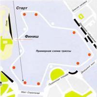 Карта трассы соревнования
