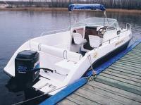 """Катер """"Crosswind 210"""" с 250-сильным мотором"""