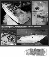 Катер 290 Amberjack: рыболовный вариант